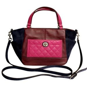 LIKE NEW❗️AUTHENTIC COACH F49865 QUILTED PARK